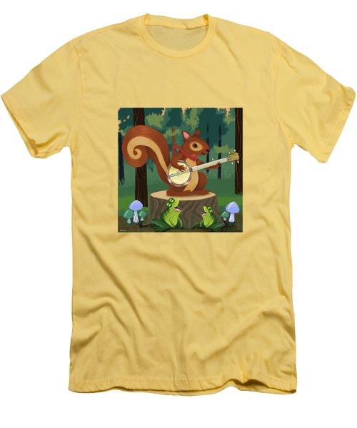 The Nutport Croak Music Festival Men's T-Shirt (Slim Fit)