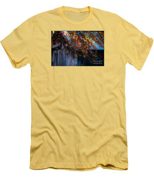 The Old Barn Men's T-Shirt (Slim Fit) by Sherman Perry