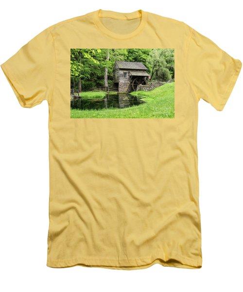 The Old Mill Men's T-Shirt (Slim Fit) by Nicki McManus