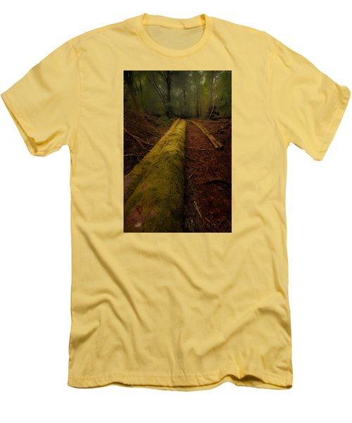 The Old Mossy Trunk Men's T-Shirt (Slim Fit)