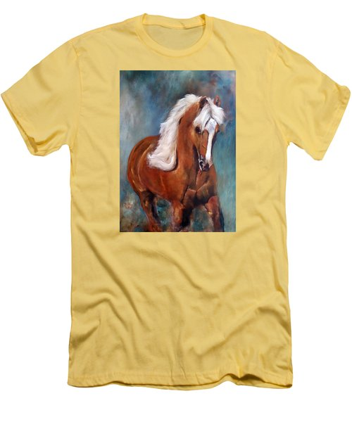 The Palomino 2 Men's T-Shirt (Slim Fit) by Barbie Batson