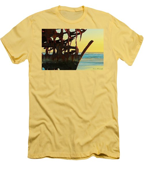 The Peter Iredale 4 Men's T-Shirt (Athletic Fit)