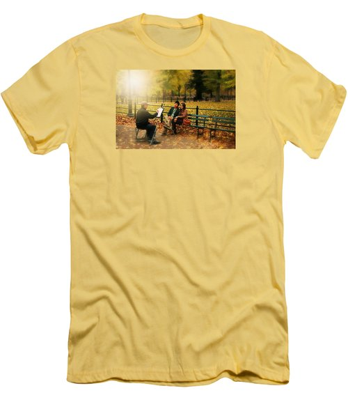 The Portraiture Men's T-Shirt (Slim Fit) by Diana Angstadt