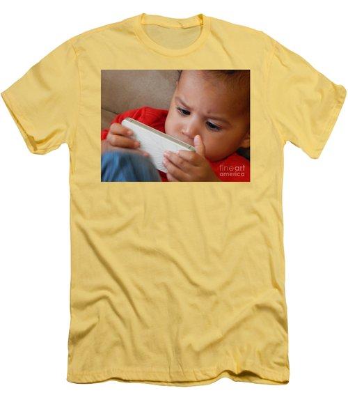 The Power Of Internet Men's T-Shirt (Slim Fit) by Beto Machado