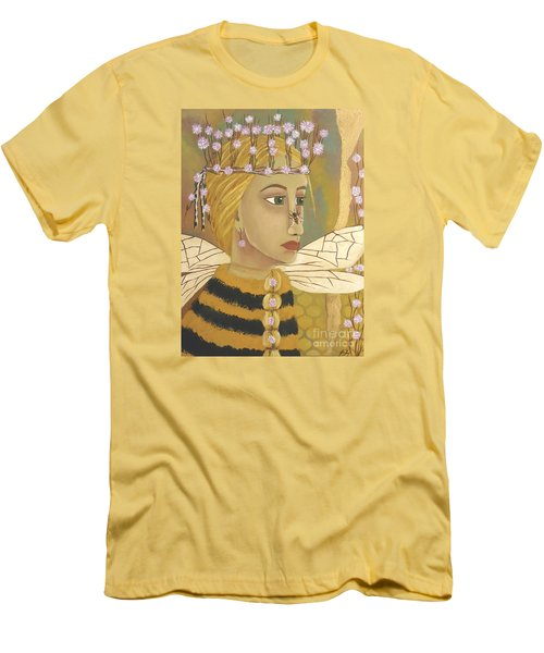The Queen Bee's Honeycomb Men's T-Shirt (Athletic Fit)