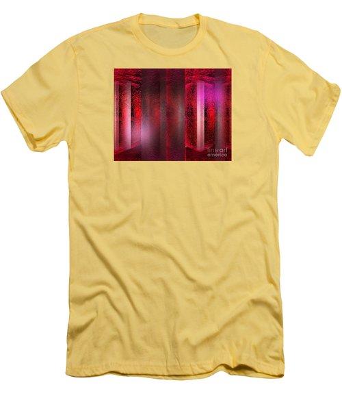 The Red Room Men's T-Shirt (Slim Fit) by John Krakora