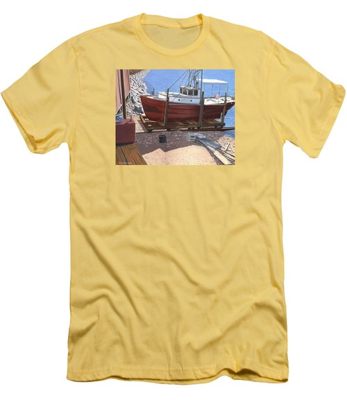 The Red Troller Men's T-Shirt (Athletic Fit)