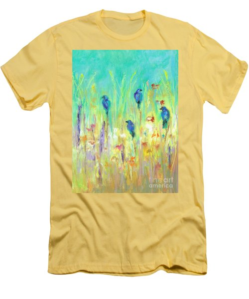 The Resting Place Men's T-Shirt (Slim Fit) by Frances Marino