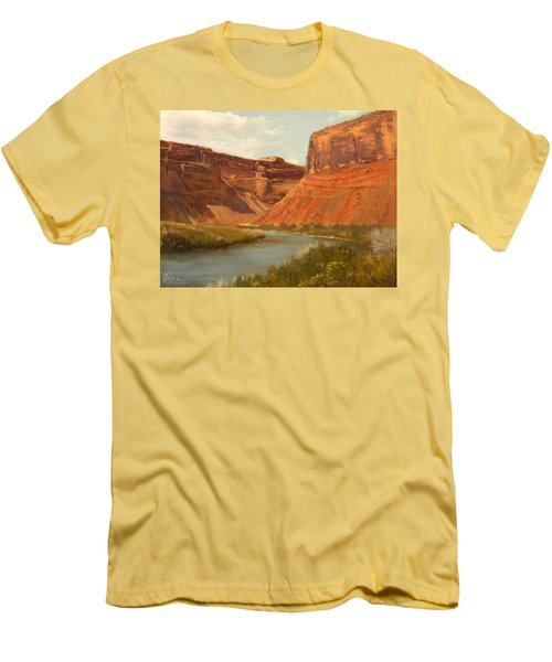 The Road To Moab Men's T-Shirt (Athletic Fit)