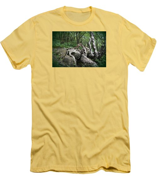 The Root Men's T-Shirt (Slim Fit) by Gary Smith