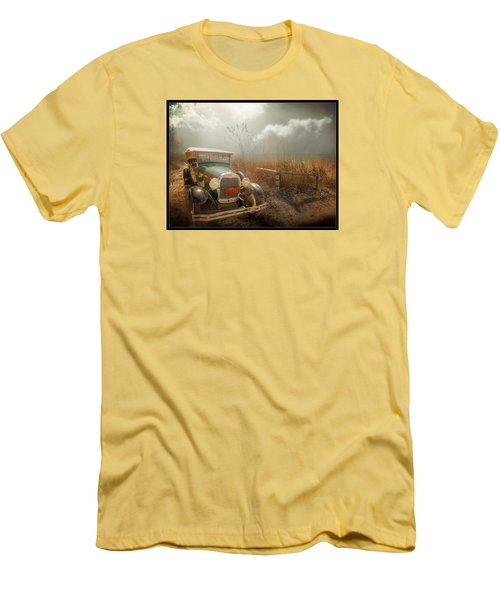 The Rural Route Men's T-Shirt (Athletic Fit)