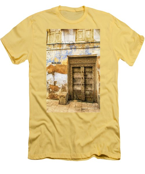 The Rustic Door Men's T-Shirt (Athletic Fit)