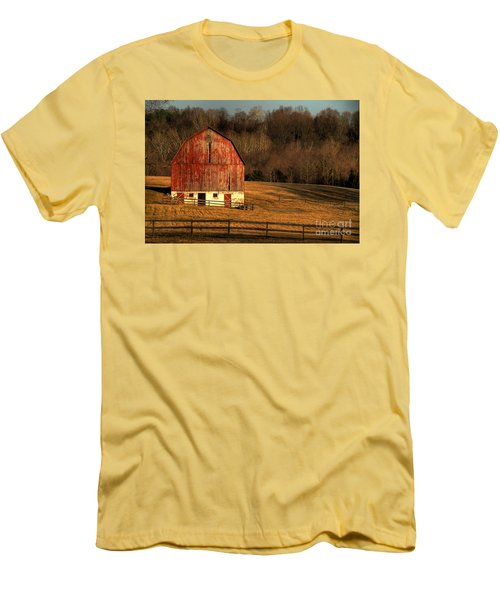 The Simple Life Men's T-Shirt (Slim Fit) by Lois Bryan