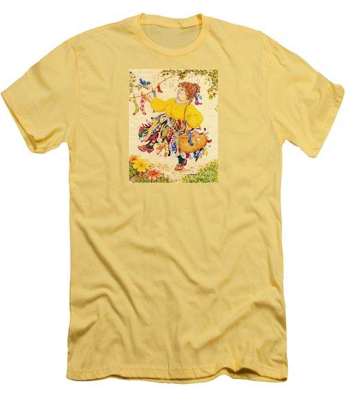 The Sock Lady Men's T-Shirt (Athletic Fit)