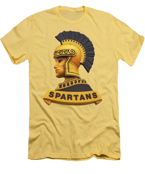 Men's T-Shirt (Athletic Fit) featuring the photograph The Spartans by Mark Dodd