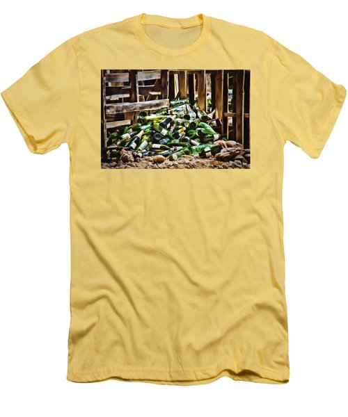 The Stash Men's T-Shirt (Slim Fit) by Lana Trussell