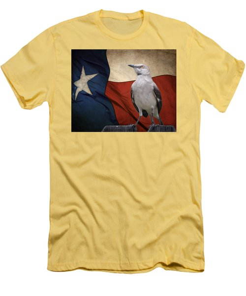 The State Bird Of Texas Men's T-Shirt (Athletic Fit)