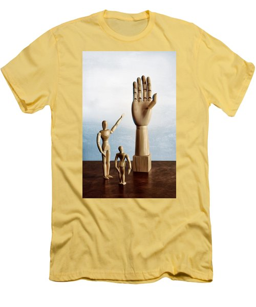 Men's T-Shirt (Slim Fit) featuring the photograph The Story Of The Creator by Mark Fuller