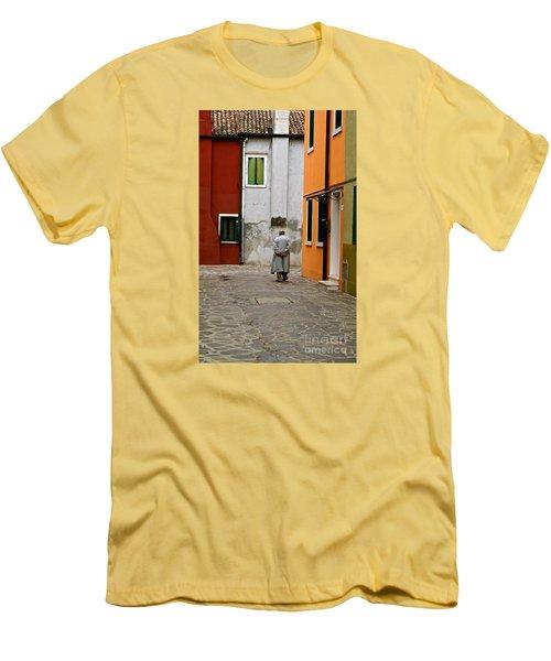 The Stroll Men's T-Shirt (Slim Fit) by Michael Cinnamond