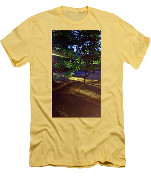 The Sunset Grove  Men's T-Shirt (Slim Fit) by Karl Reid