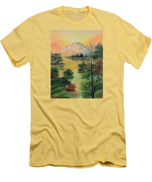 The Swamp 2 Men's T-Shirt (Slim Fit) by Remegio Onia