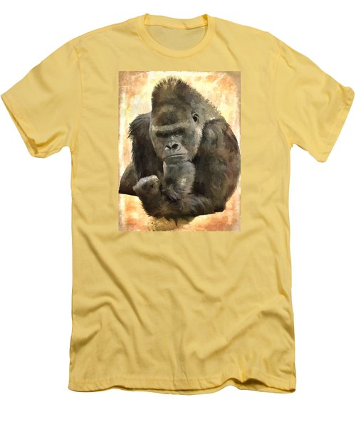 The Thinker Men's T-Shirt (Slim Fit) by Diane Alexander