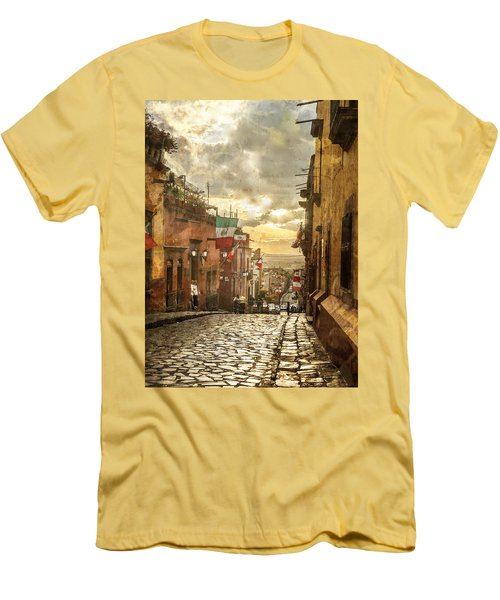 The View Looking Down Men's T-Shirt (Athletic Fit)