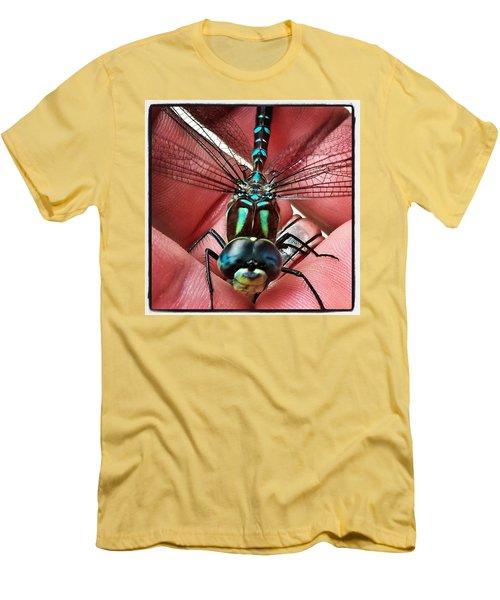 The Visitor Men's T-Shirt (Slim Fit) by Karl Reid