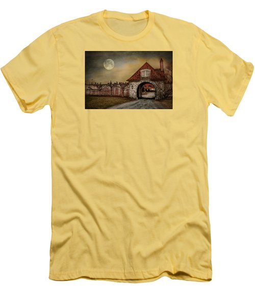 Men's T-Shirt (Athletic Fit) featuring the photograph The Watcher by Robin-Lee Vieira