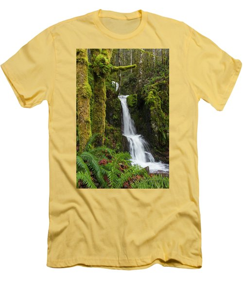 The Water Staircase Men's T-Shirt (Athletic Fit)