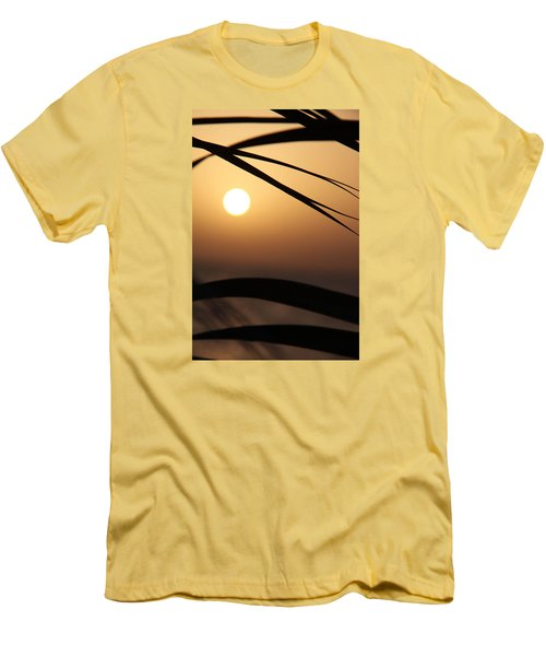 Men's T-Shirt (Slim Fit) featuring the photograph the way I lean by Jez C Self