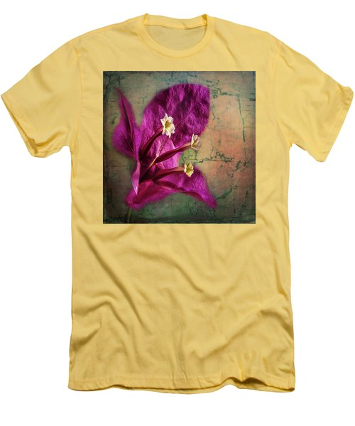 Men's T-Shirt (Athletic Fit) featuring the photograph The Well Dressed Bougainvillea by Bellesouth Studio