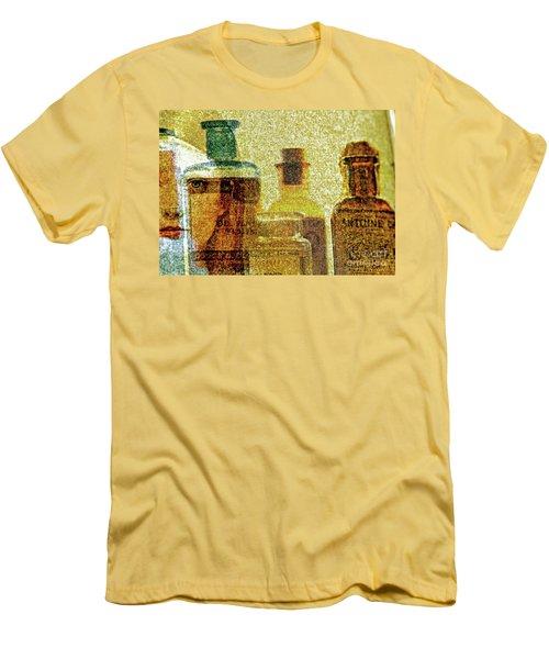 The Woman Behind Men's T-Shirt (Slim Fit) by Michael Cinnamond