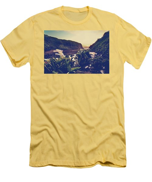 There Is Harmony Men's T-Shirt (Slim Fit) by Laurie Search