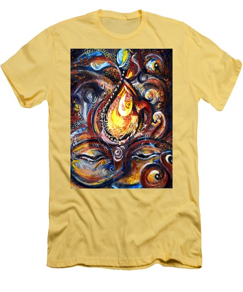 Third Eye - Abstract Men's T-Shirt (Slim Fit) by Harsh Malik