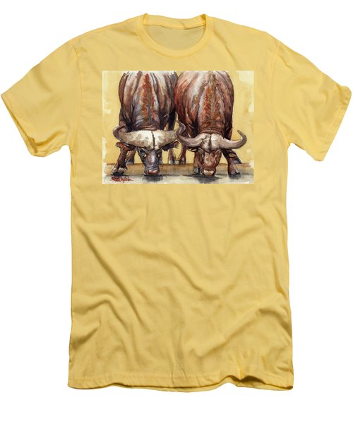 Thirsty Buffalo  Men's T-Shirt (Slim Fit)