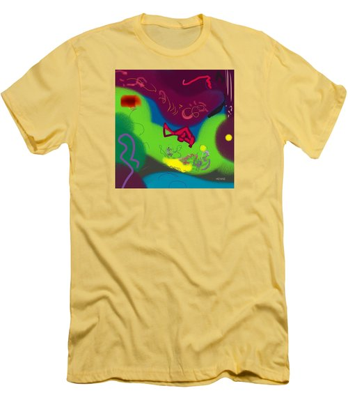 Thought Men's T-Shirt (Slim Fit) by Robert Henne