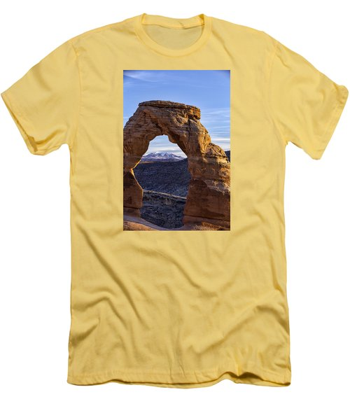 Through The Delicate Arch Men's T-Shirt (Athletic Fit)