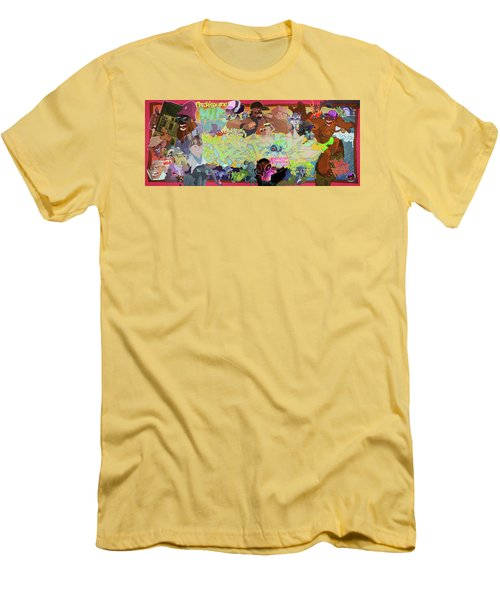 Tidal Recall 2 Men's T-Shirt (Athletic Fit)