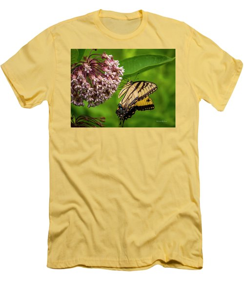 Tiger Swallowtail #210 Men's T-Shirt (Athletic Fit)