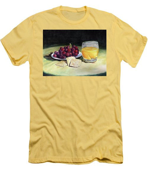 Time For A Snack Men's T-Shirt (Athletic Fit)