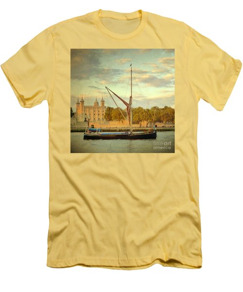 Men's T-Shirt (Slim Fit) featuring the photograph Time Travel by LemonArt Photography