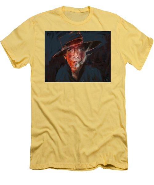 Tobaco Break Men's T-Shirt (Athletic Fit)