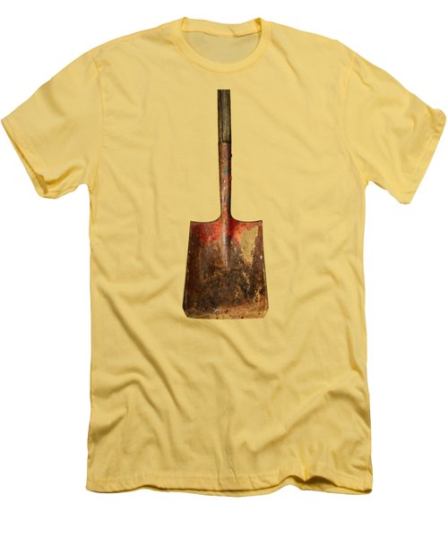 Tools On Wood 2 Men's T-Shirt (Slim Fit) by YoPedro