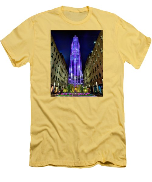 Top Of The Rock 465 Men's T-Shirt (Athletic Fit)