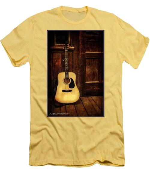 Topanga Guitar Men's T-Shirt (Athletic Fit)