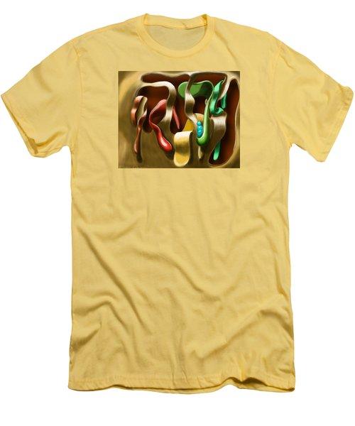 Toungue Wall Men's T-Shirt (Athletic Fit)