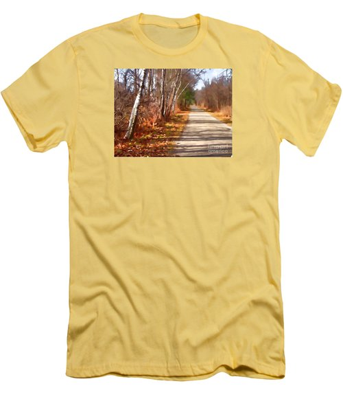 Men's T-Shirt (Slim Fit) featuring the photograph Transformed by Betsy Zimmerli