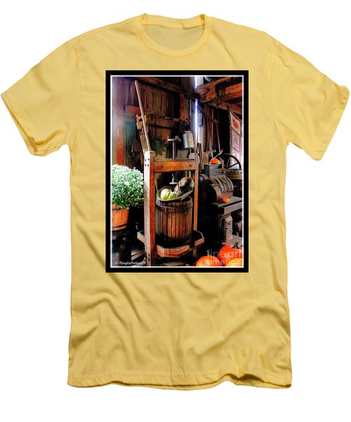 Treasures Of  Fall Men's T-Shirt (Slim Fit) by MaryLee Parker
