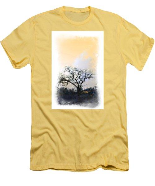 Men's T-Shirt (Slim Fit) featuring the photograph Tree Of La Vernia II by Carolina Liechtenstein